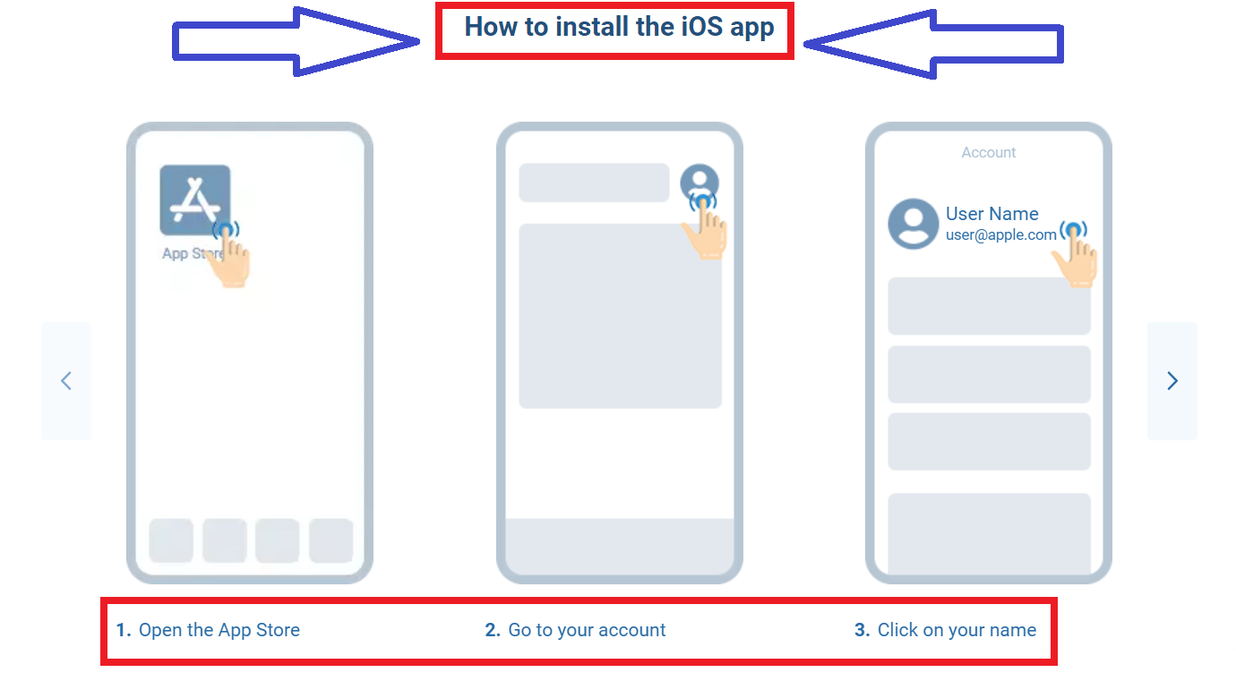 How to download a mobile app from 1xBet for iOS gadgets